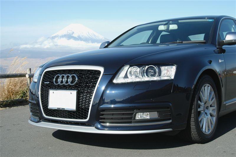 A6 (セダン)Audi純正 フロントリップスポイラーの単体画像
