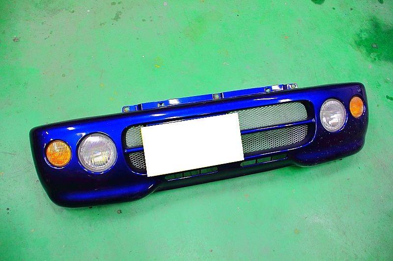 セルボ・モードSUZUKI純正 ターボ車用フロントバンパー改の単体画像