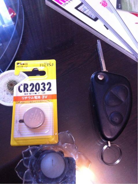 キーレス用ボタン電池 CR2032