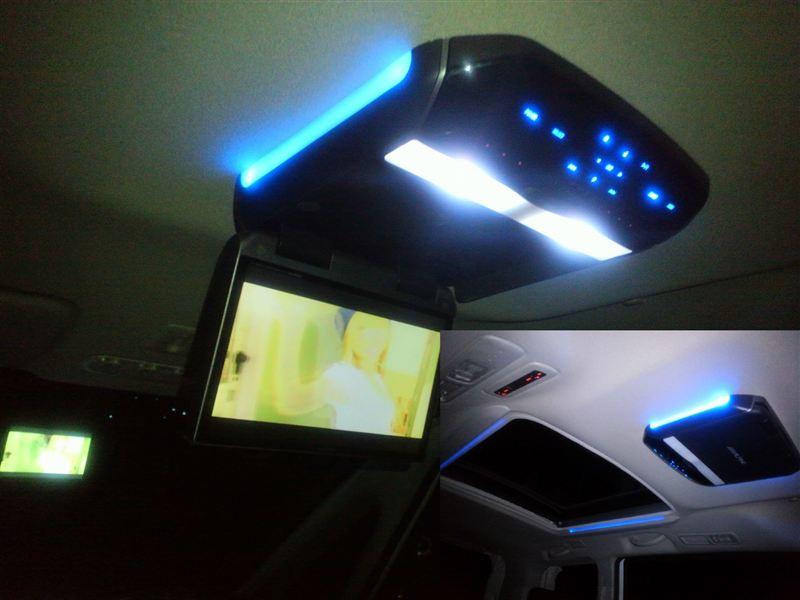 ALPINE TMX-R1500 10.2インチ ワイドVGAモニター&マッハワン取付キット(パノラミックルーフ車用)