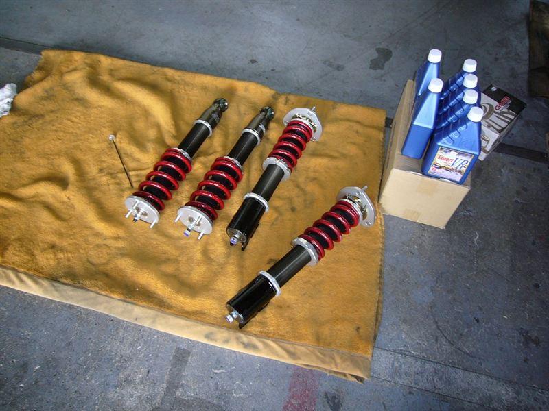 オーテック ザガート ステルビオCRUX オーテックザガート ステルビオ用 オートクチュール車高調の単体画像