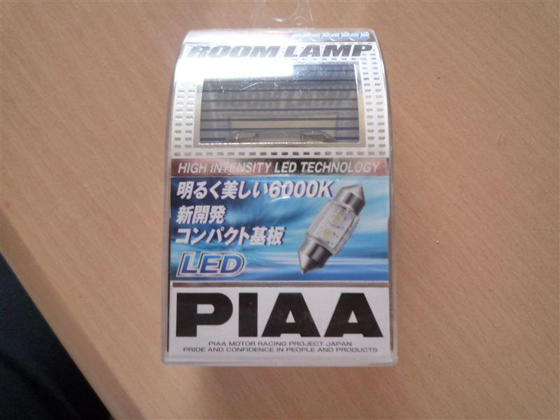 PIAA 超TERA Evolution6000 T10×31ホワイト