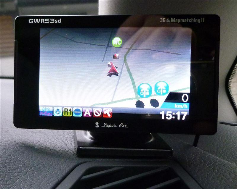 ユピテル スーパーキャットGWR53sd