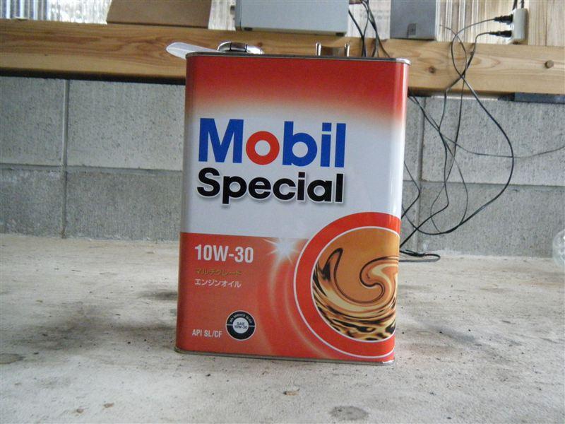 Mobil エンジンオイル10w-30