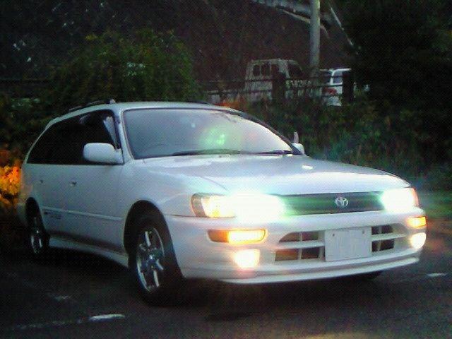 カローラツーリングワゴントヨタ純正 AE101 カローラFX用バンパーの単体画像