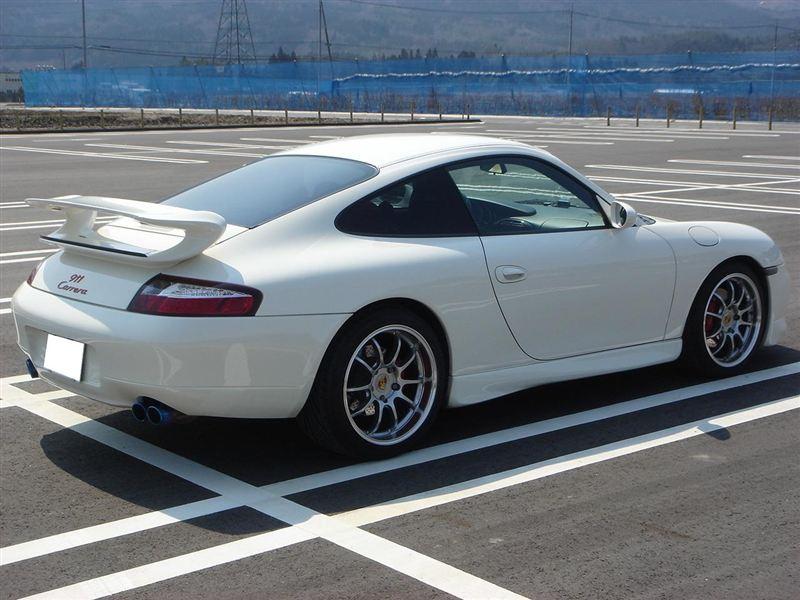 911 (クーペ)YOKOHAMA WHEEL ADVAN Racing RZ-DF(マシニング&レーシングハイパーシルバー):追加ありの単体画像