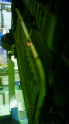 パイザー某鉄工所製 中間ストレート&リヤ内部摘出マフラーの単体画像