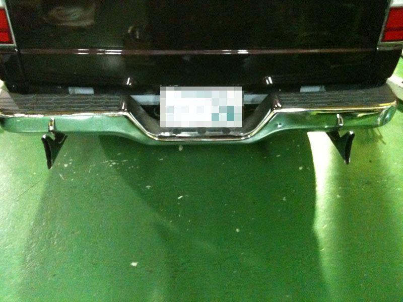 キャラバンバンコウテツ(新井鋼鉄製作所) ワンオフフルステンフィッシュテールマフラーの単体画像