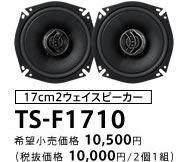 carrozzeria TS-F1710
