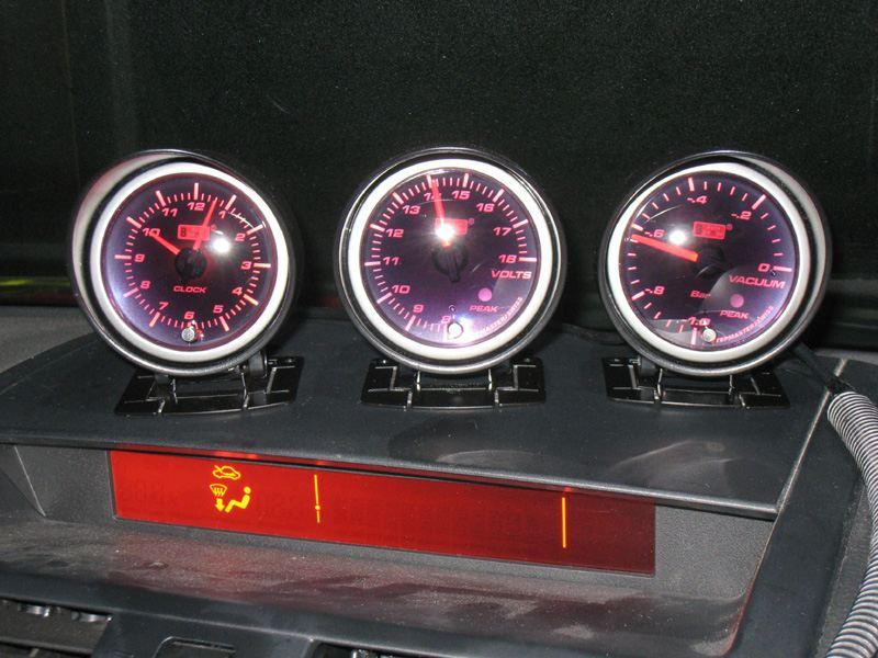 AutoGauge PK-シリーズ PKピークホールド 電圧計