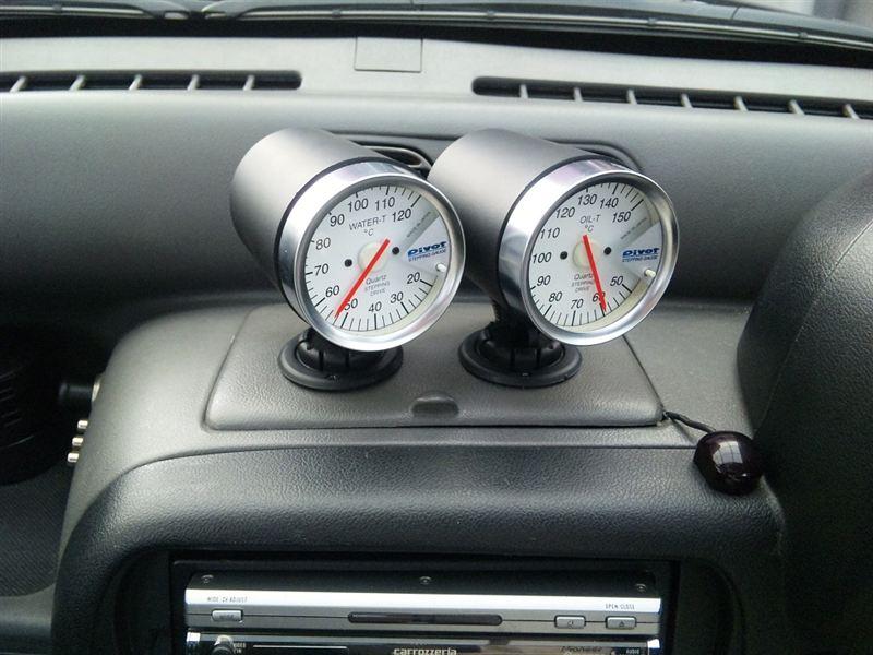 ピボット  水温計 油温計