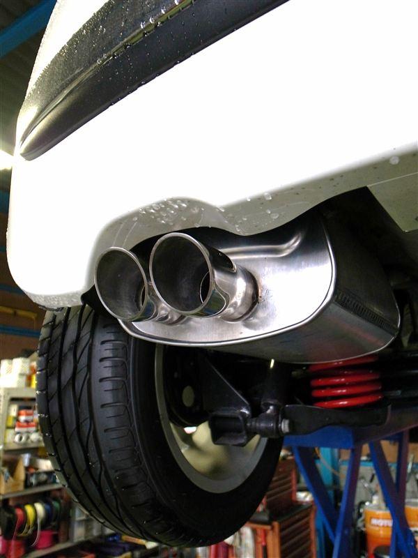 フィアット500 (ハッチバック)MAGNETI MARELLI Rear Silencer (ディフュージョンモデル)for FIAT 500 1.2の単体画像