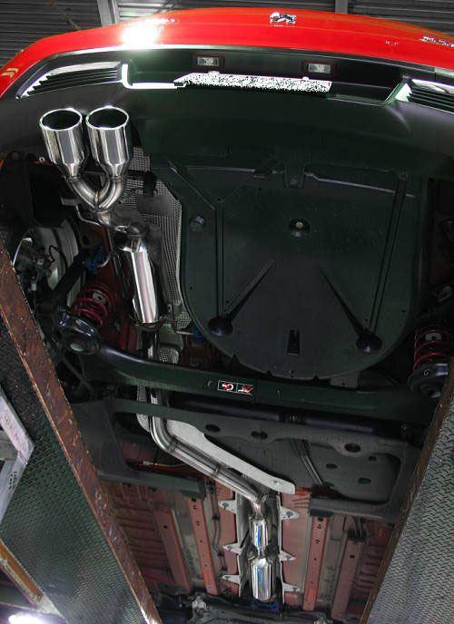 308 (ハッチバック)SURUGASPEED プジョー 308用オーダーメイドマフラーの単体画像