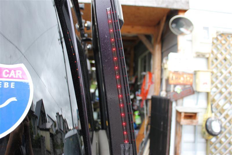 メーカー不明OTM製作所(怪 スライドドア開 危険防止LED