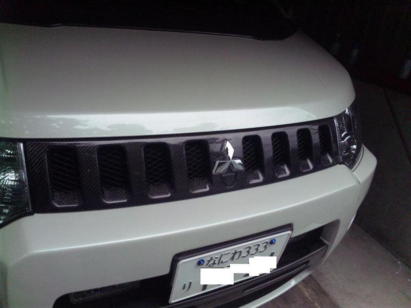 A & P Automotive >> TGS センターグリル カーボン のパーツレビュー | デリカD:5(ホワイトデリ) | みんカラ