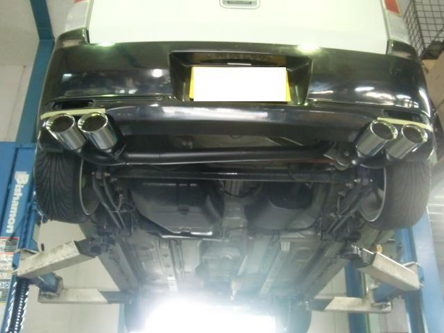 レンジャーグランドスラム ラリー ワゴンR ワンオフマフラーの単体画像