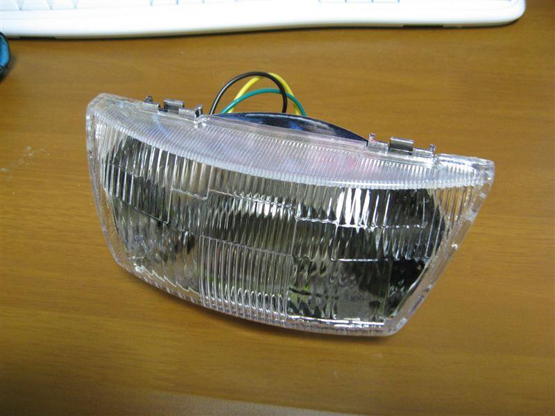 JOG 3YKヤフオク ヘッドライトの単体画像