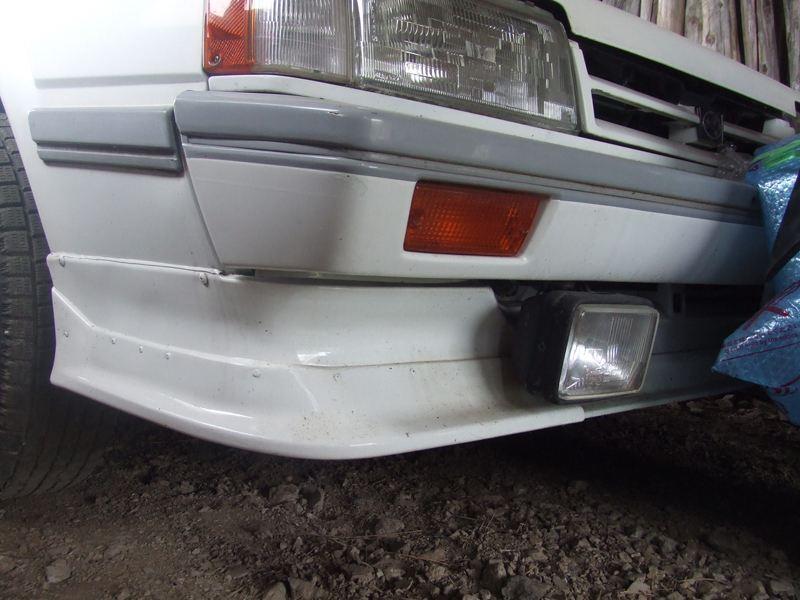 レオーネトヨタ純正 AE86前期用フロントリップ(オプション)の単体画像