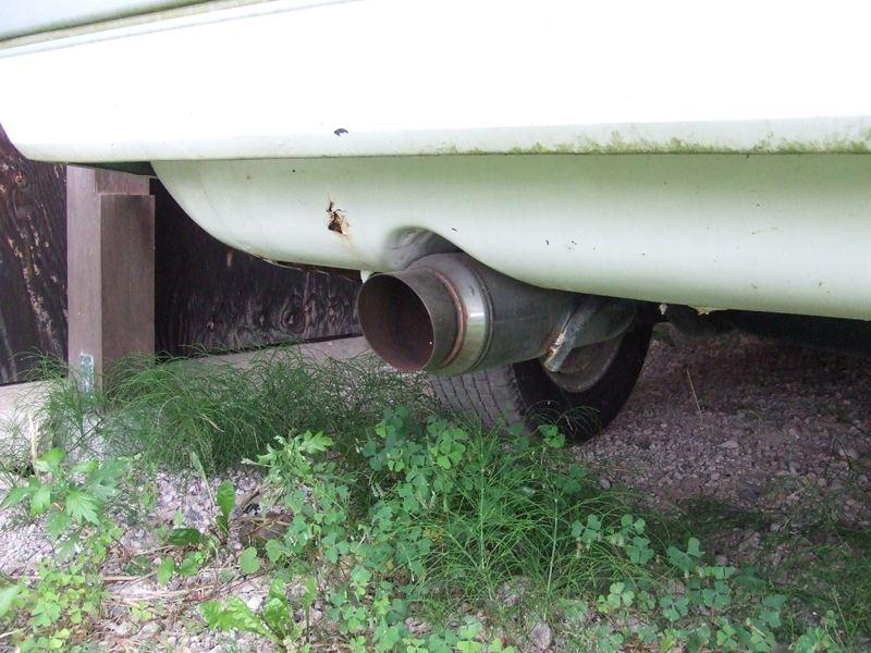 レオーネ不明 S13用砲弾型N1マフラーの単体画像