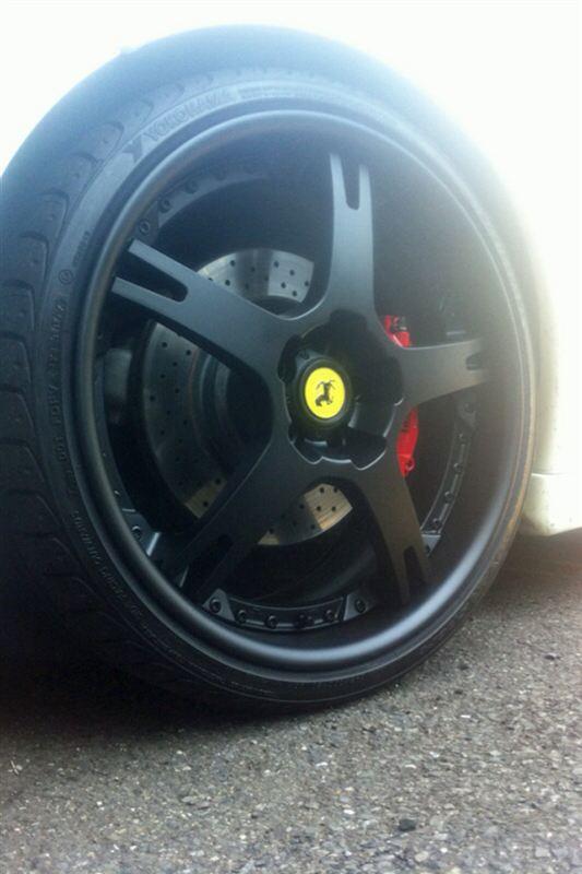 フェラーリ F430 (クーペ)T2G 鍛造3ピースの単体画像