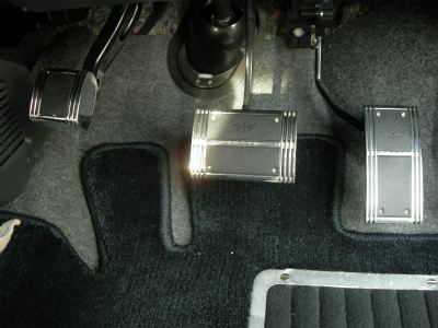 カーメイト LS201 ラグジス(LUXIS) ペダルセット TYPE AT-S