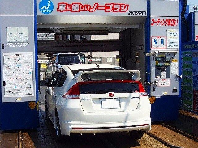NIPPO ノーブラシ洗車機