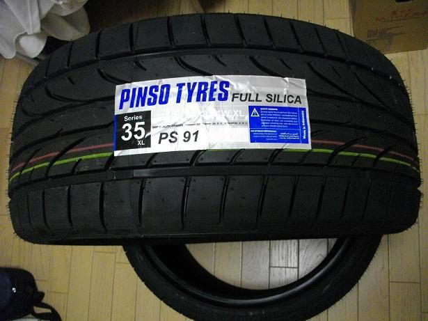 Pinso Tyres PS-91 のパーツレビュー | マークX(カシュウ) | みんカラ