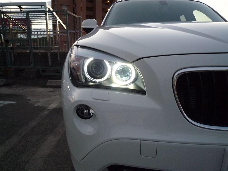 X1RACING DASH BMW イカリング用6W(H8)LEDバルブの単体画像