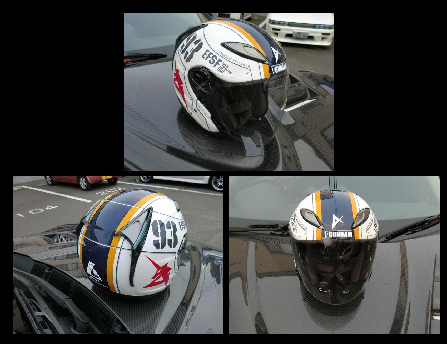 OGK ヘルメット TYPE RX-93 νGUNDAM
