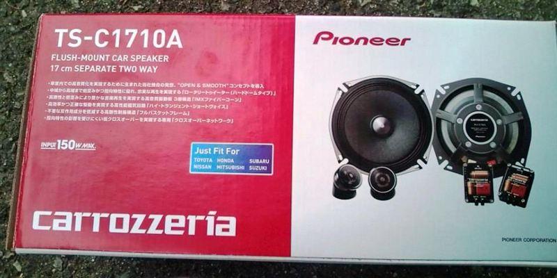 PIONEER carrozzeria TS-C1710A