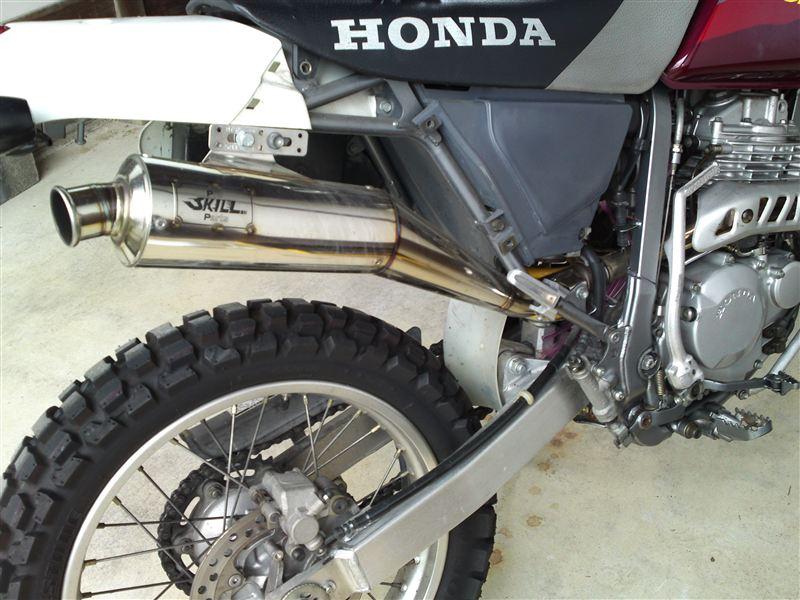 XR250 バハプロスキル 4レーシングの単体画像