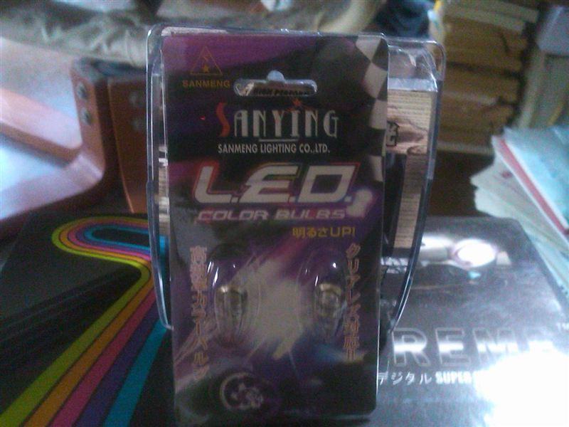 SANMENG LED T10 ウェッジ ホワイト