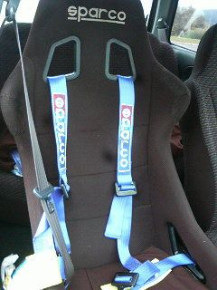 SPARCO 4点式 シートベルト