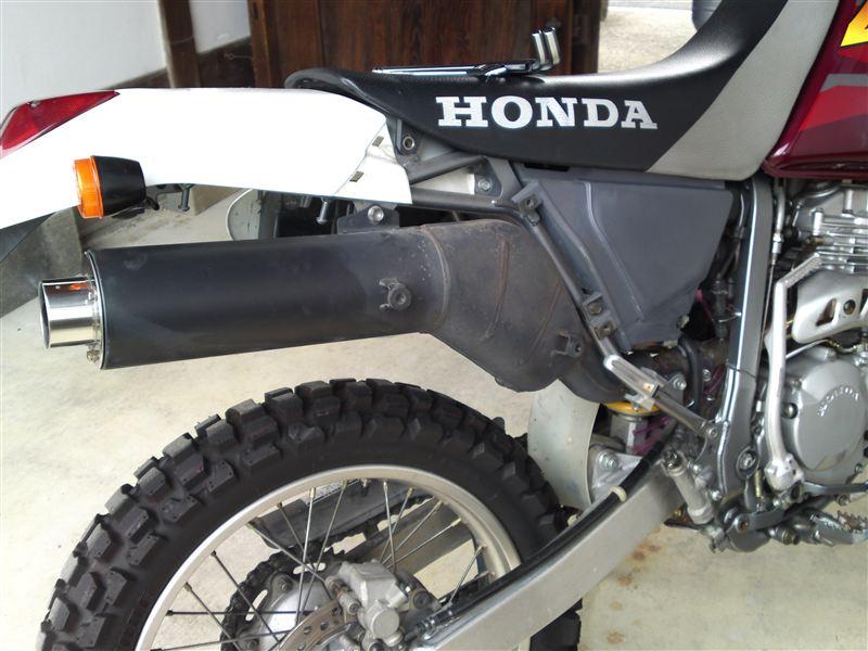 XR250 バハホンダ ノーマルの単体画像
