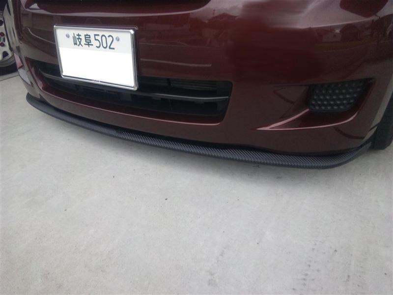 パッソトヨタ純正 パッソRacy用 TRDフロントリップ改 &カーボンラッピングの単体画像