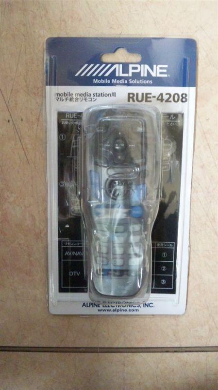 アルパイン マルチ総合リモコンRUE-4208