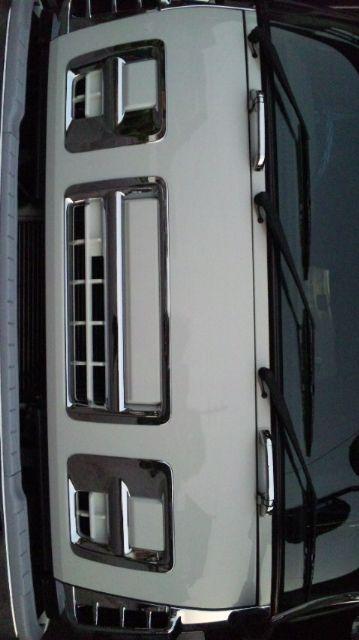 ギガいすゞ純正 純正グリルボディー同色塗装の単体画像