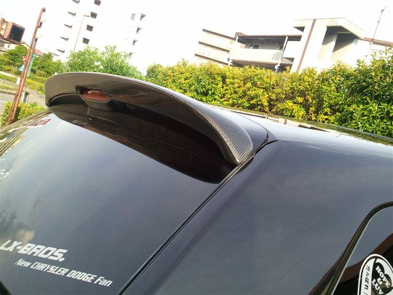 マグナムSHINE STREET rear spoiler Ver.Ⅰ blackcarbonの単体画像