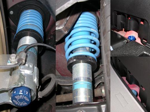 インプレッサ WRX STIビルシュタイン(Bilstein) PSS10 車高調整サスペンションキット PSSF583Uの単体画像