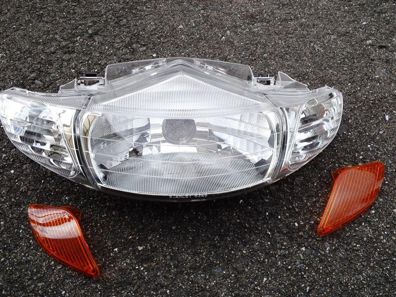 ディオホンダ純正 AF35ライブディオⅡ型用ヘッドライトの単体画像