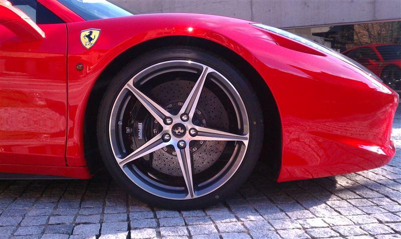 458イタリアFerrari 458ホイールの単体画像