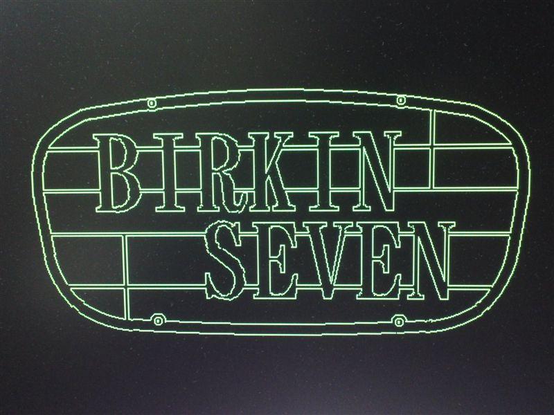 ケント1700pon BIRKIN SEVEV GRILLの単体画像
