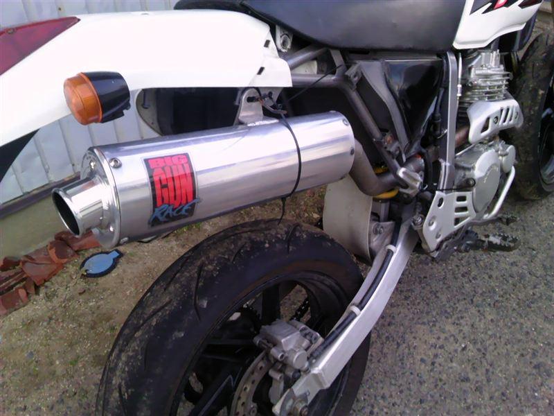 XR250BIG GUN RACE Exhaust Systemの単体画像