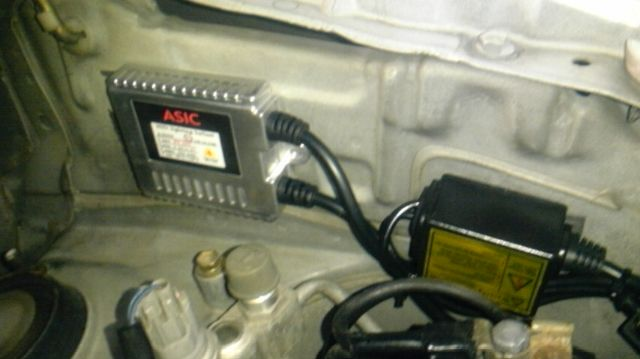 ASIC HID Lamp System