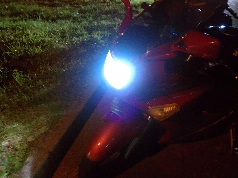 ZZR250HIKARI 28Wバイク専用HID H4 4300K 上下切り替え式の単体画像