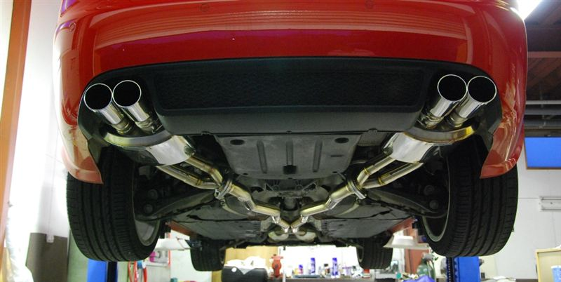 RS4 (セダン)Gee concept G.T.M Exhaust system (Gee concept Technical Making Exhaust system)の単体画像