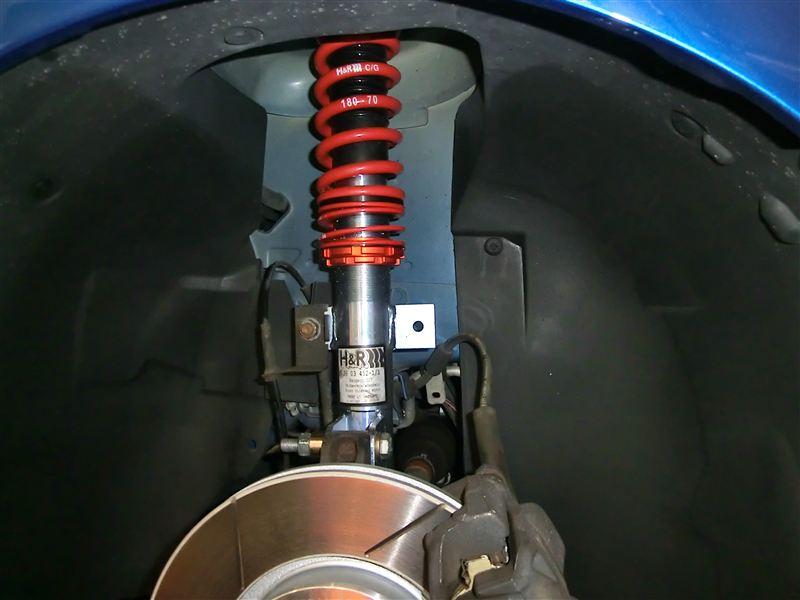 307 (ハッチバック)H&R Coil Over Suspension Kitの単体画像