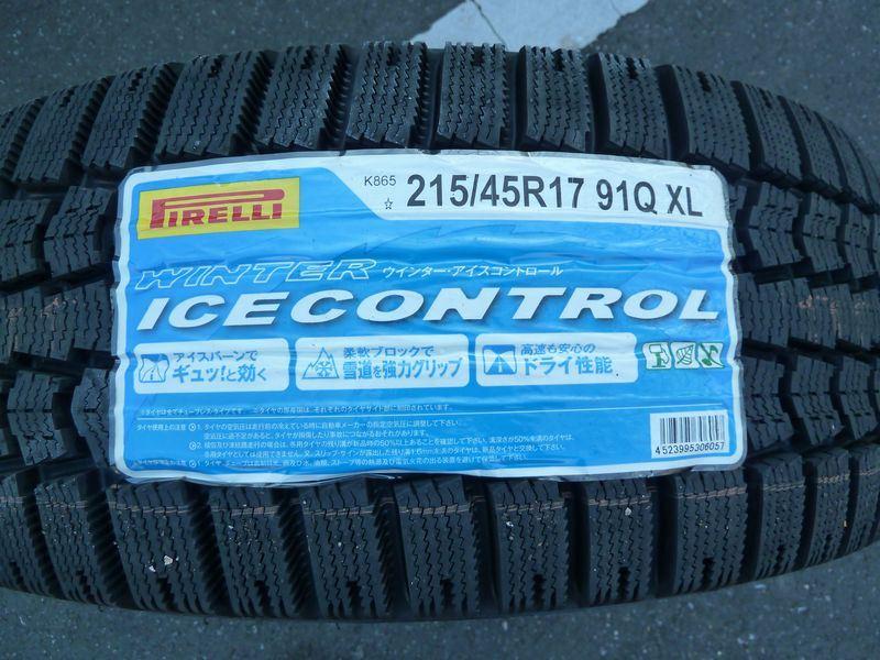 PIRELLI Winter IceControl Winter IceControl 215/45R17 91Q