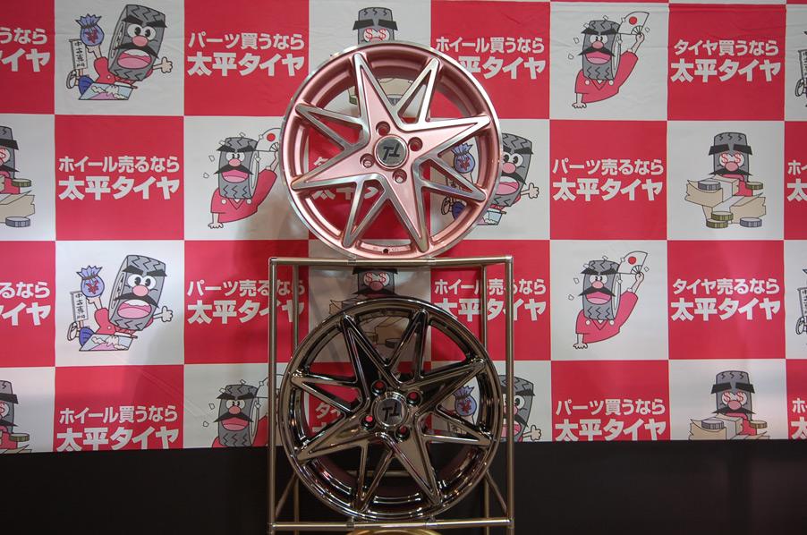 太平タイヤセンター TT-Kオリジナルアルミホイールの単体画像