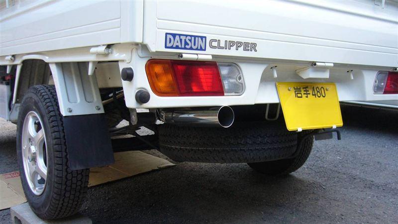 クリッパートラックWirusWin レーシングマフラー【Sタイプ】(O2センサー非装着モデル)の単体画像